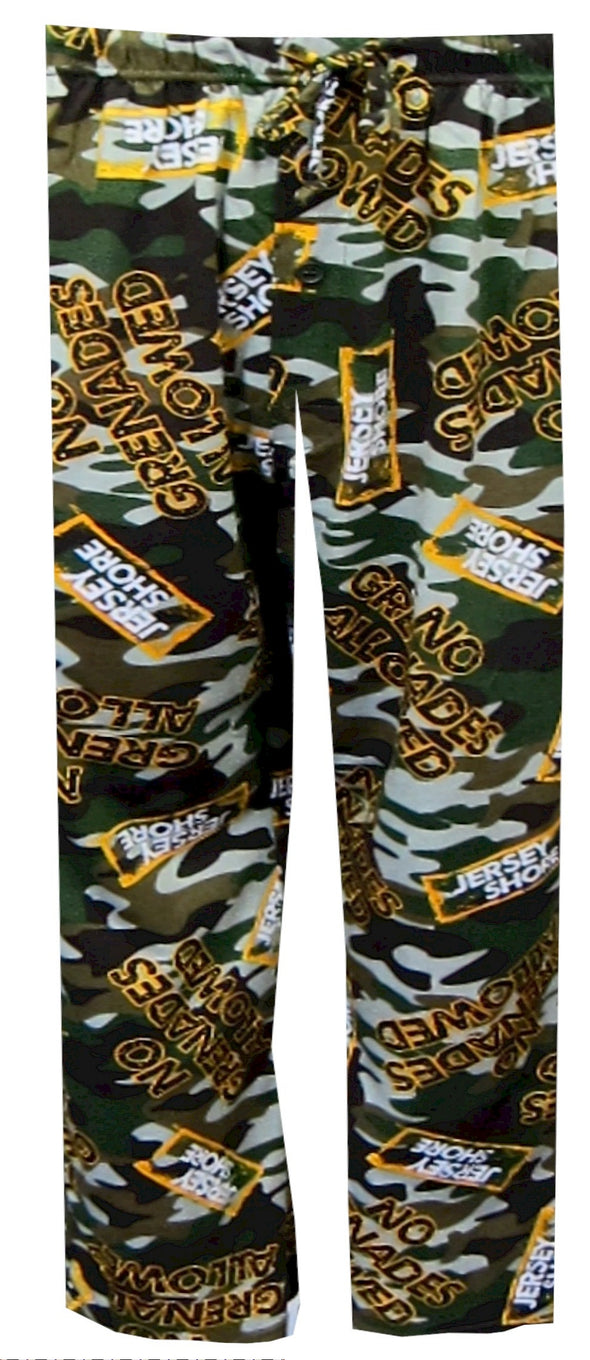 No Grenades Allowed Camo Lounge Pant Small
