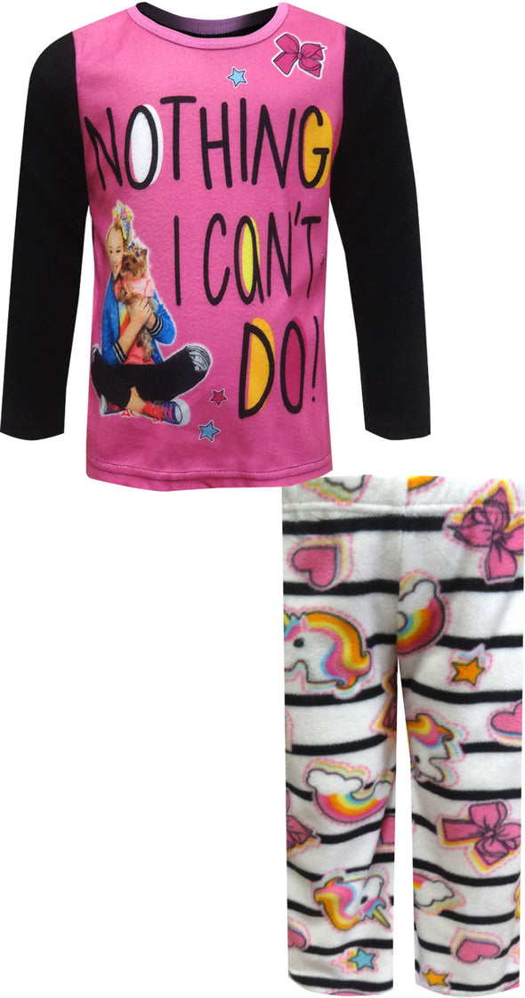 JoJo Siwa Nothing I Can't Do Cozy Fleece Pajama