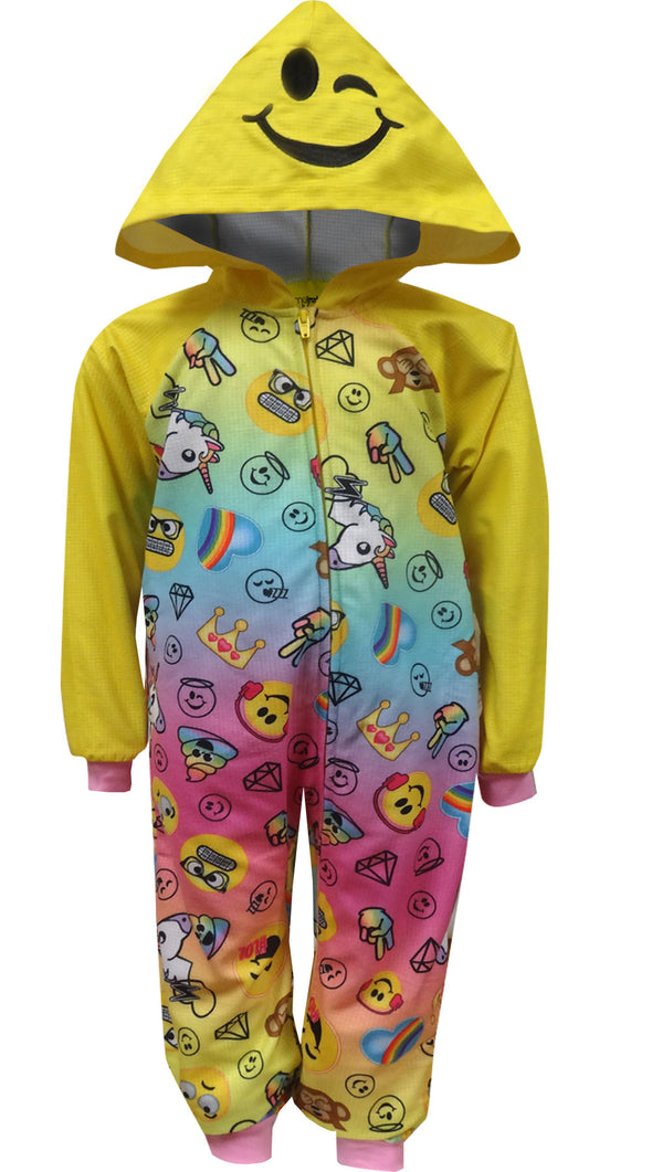Emoji Favorites Hooded One Piece Pajama