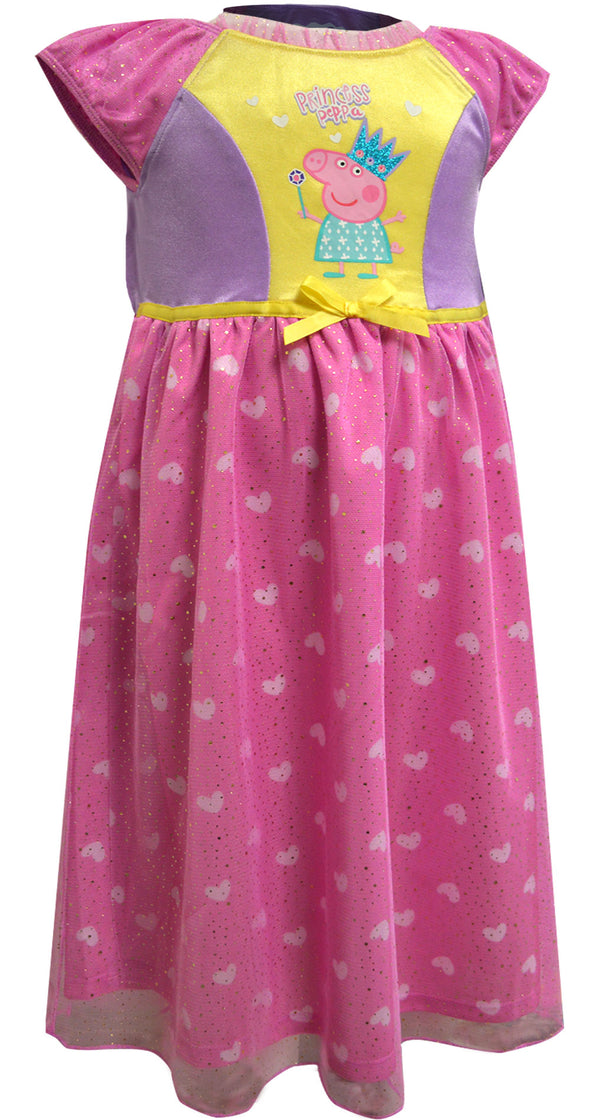 Nickelodeon Peppa Pig Princess Peppa Toddler Nightgown