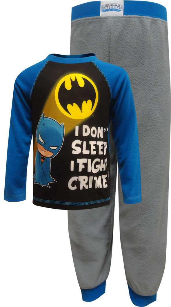 DC Comics Batman I Don't Sleep Toddler Pajamas