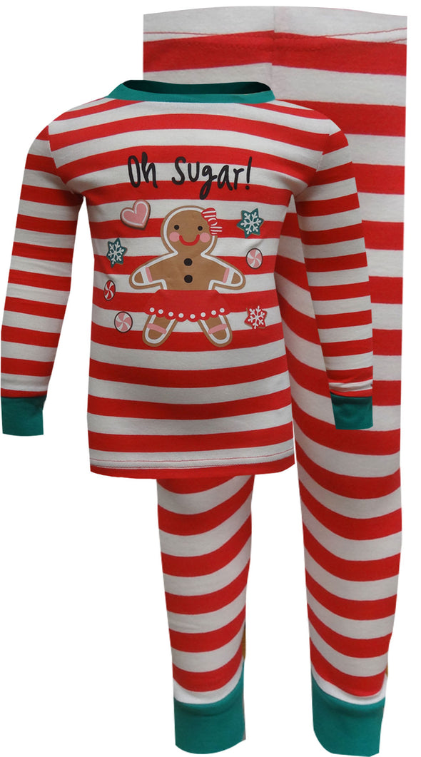 Gingerbread Cookie Oh Sugar Christmas Pajama