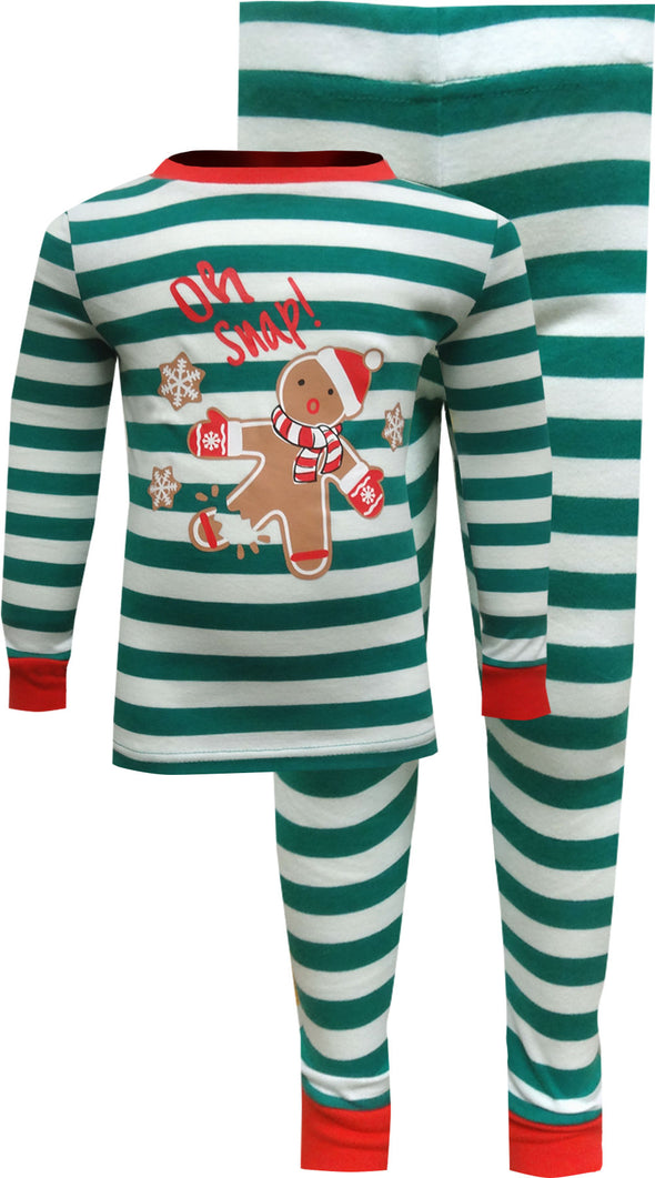 Gingerbread Men Oh Snap Christmas Pajama