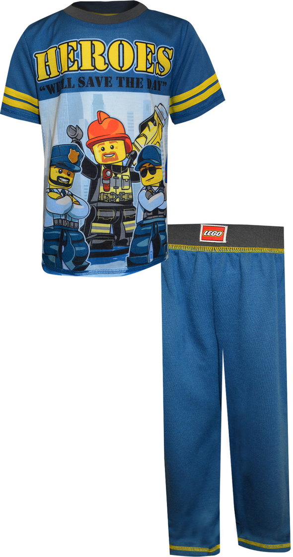 LEGO City Heroes Save The Day Pajamas