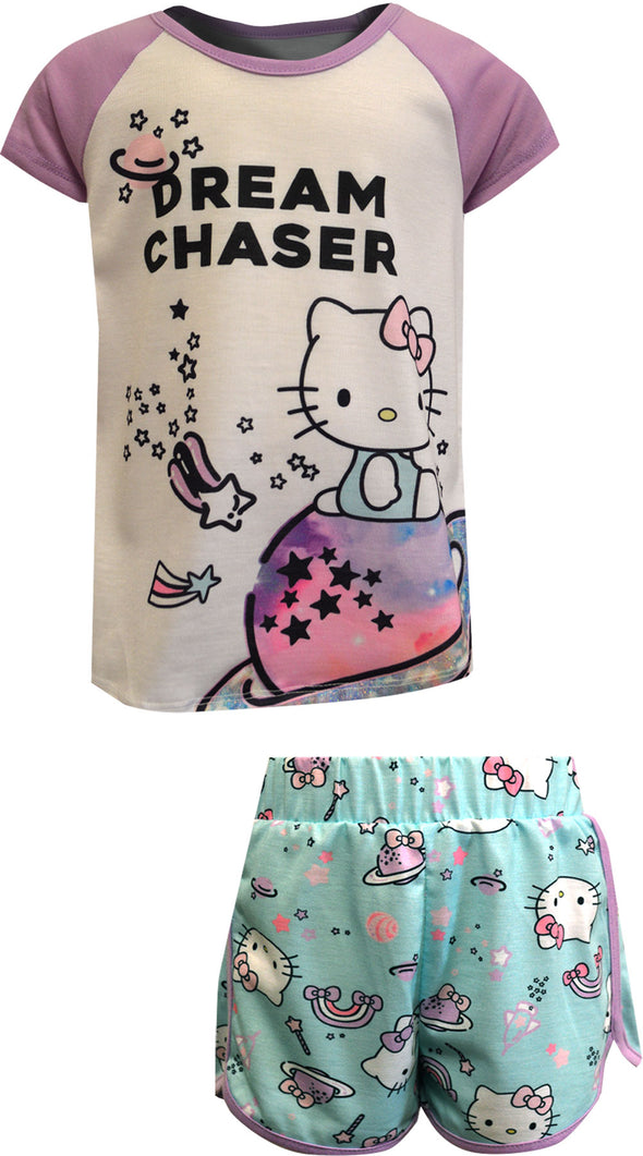 Hello Kitty Dream Chaser Shortie Pajama Set