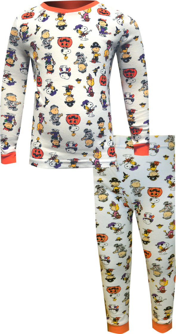 Peanuts Snoopy and Friends in Costumes Halloween Toddler Pajama
