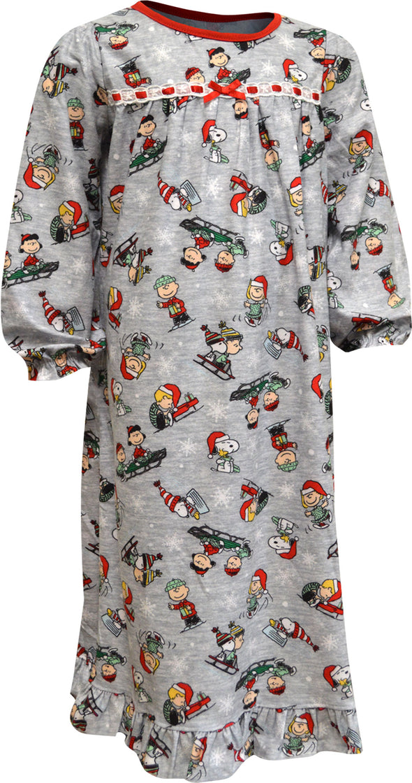 Peanuts Charlie Brown Christmas Peanuts Crew Nightgown
