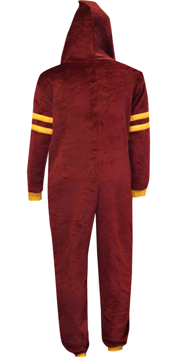 Harry Potter Gryffindor House Union Suit Onesie Pajama