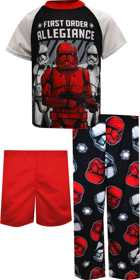 Star Wars First Order Allegiance 3 Piece Pajama Set