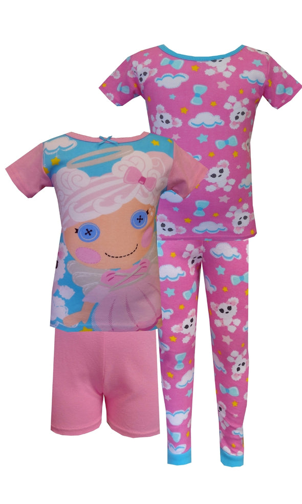 Lalaloopsy Cloud E. Sky & Puffy Poodle 4 Piece PJ Set