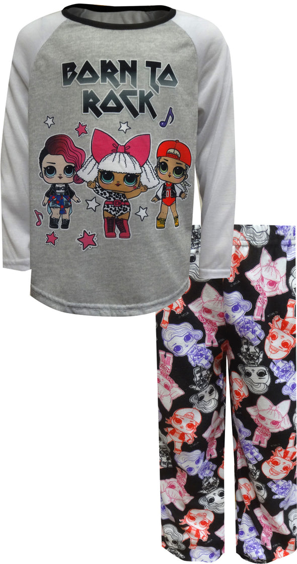 LOL Surprise Born To Rock Long Sleeve Pajama Set