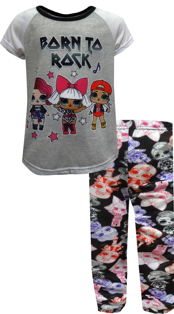 LOL Surprise Born To Rock Pajama Set