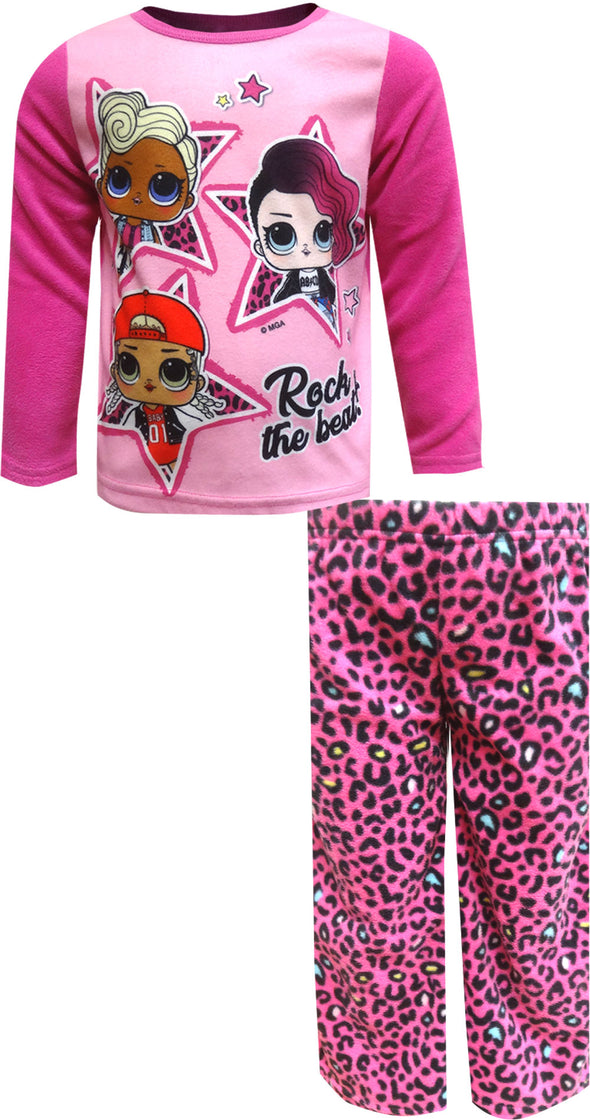 LOL Surprise Rock The Beat Fleece Pajama