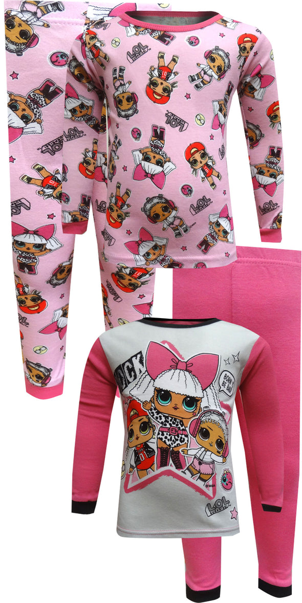 LOL Surprise Pink 4 Piece Pajama Set