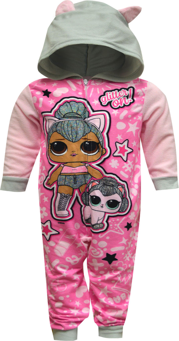 LOL Surprise Kitty Queen Blanket Sleeper One Piece Pajama