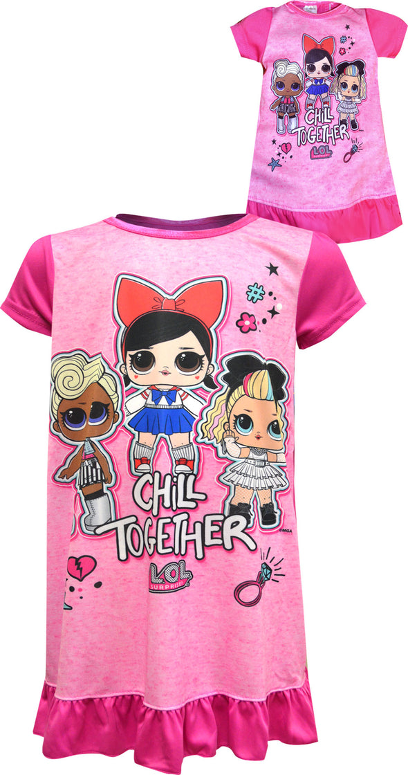 LOL Surprise Chill Together Nightgown with Matching Doll Gown
