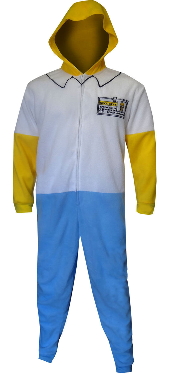 Homer Simpson Fleece One Piece Union Suit