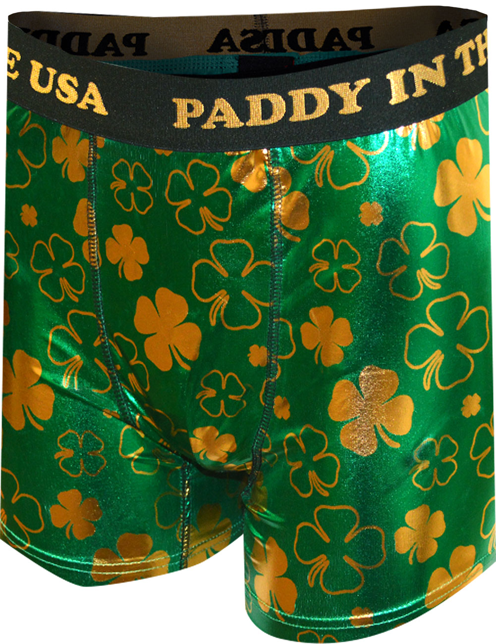 Paddys Underwear for Guys Mens St St Patricks Day Boxer Briefs