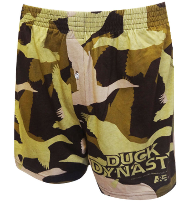 Duck Dynasty Duck Pattern Camo Boxer Shorts