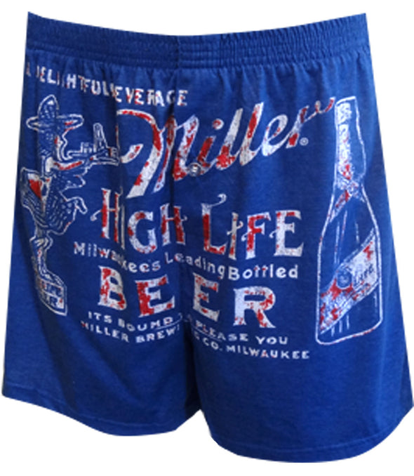 Miller Beer Stacked Boxers