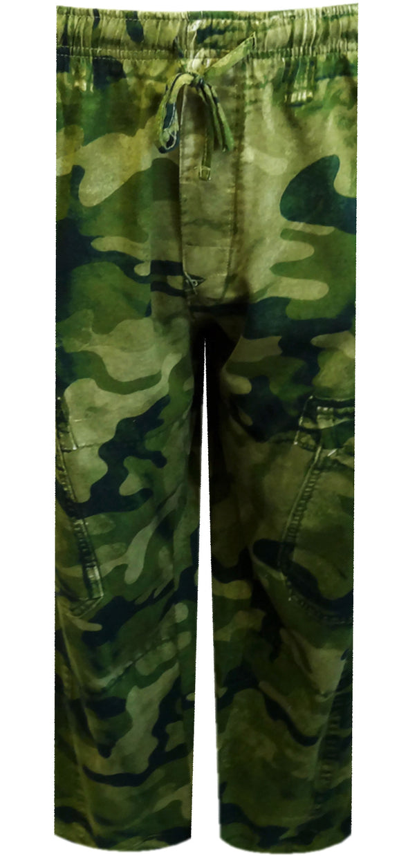 Your Old Worn Out Favorite Green Camo Lounge Pants