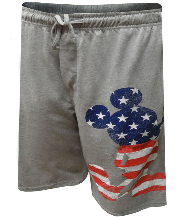 Disney's Patriotic Mickey Mouse Lounge Shorts