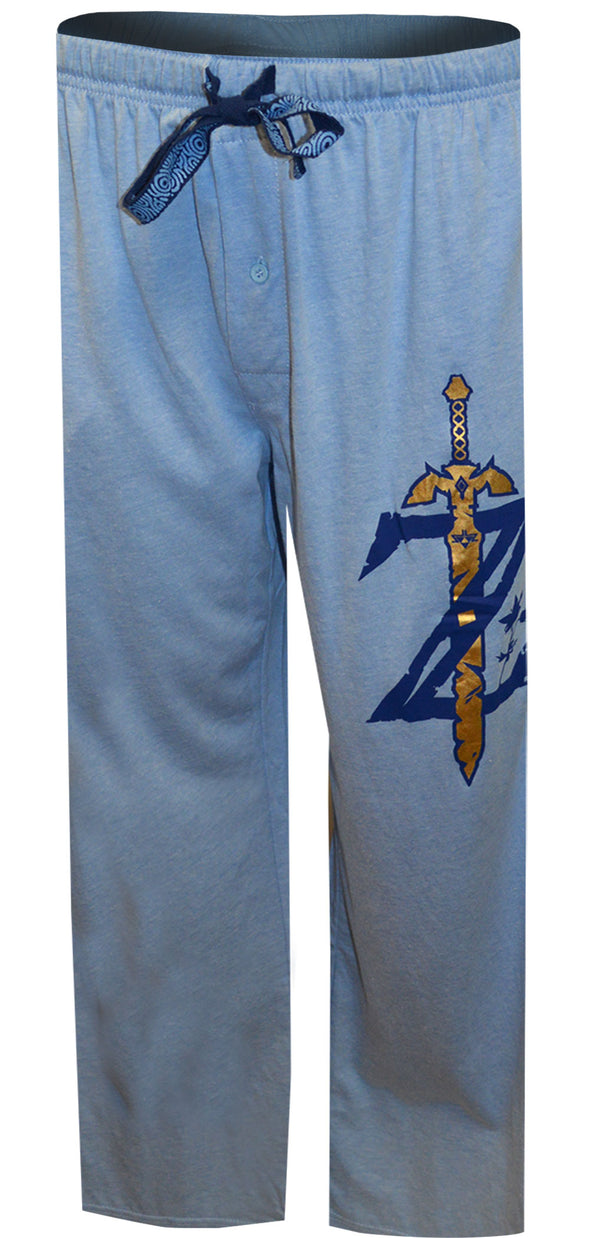 The Legend of Zelda Breath Of The Wild Blue Lounge Pants