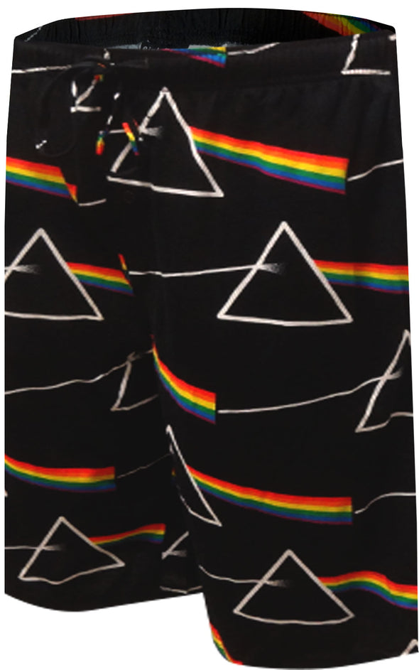 Pink Floyd Dark Side of the Moon Sleep Jam Pajama Short