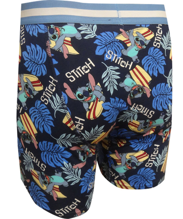 Disney's Lilo and Stitch Surf's Up Mens Boxer Briefs