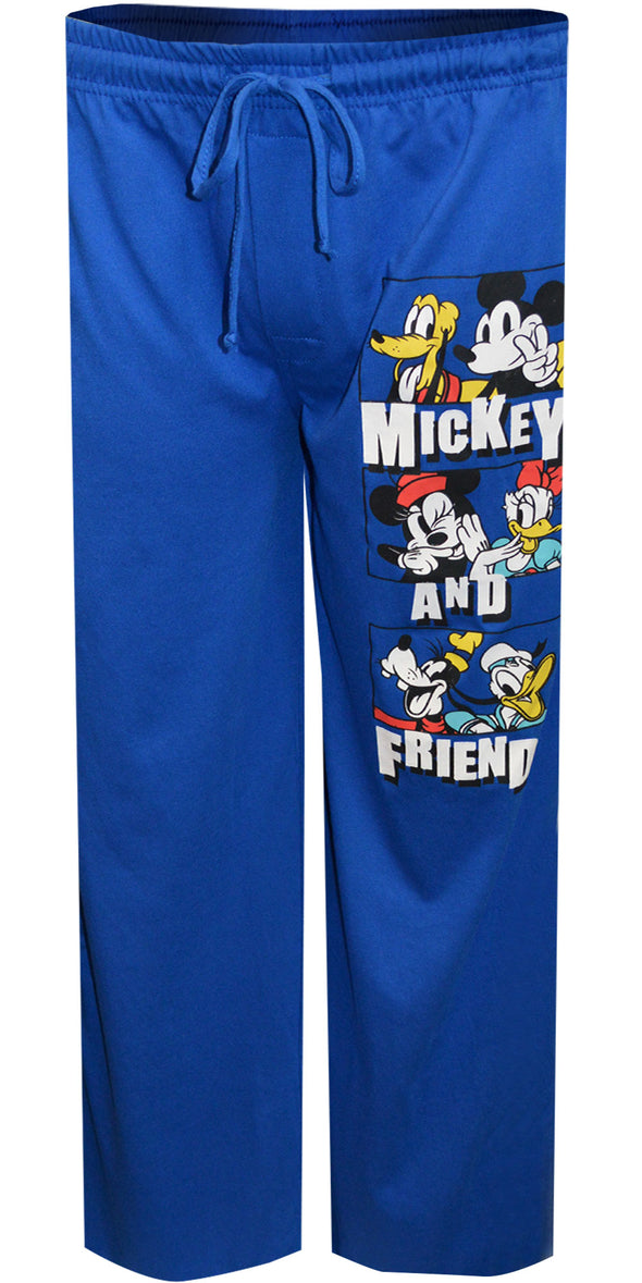Disney Classic Mickey Mouse and Friends Lounge Pants