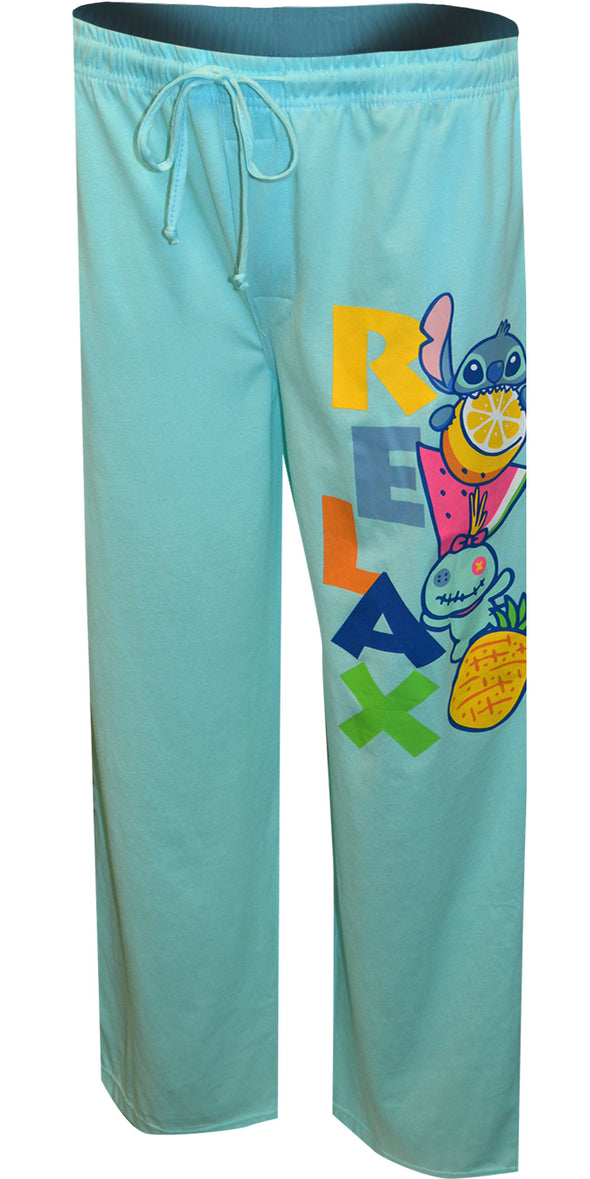 Disney's Lilo And Stitch Scrump and Stitch  Relax Loungepant