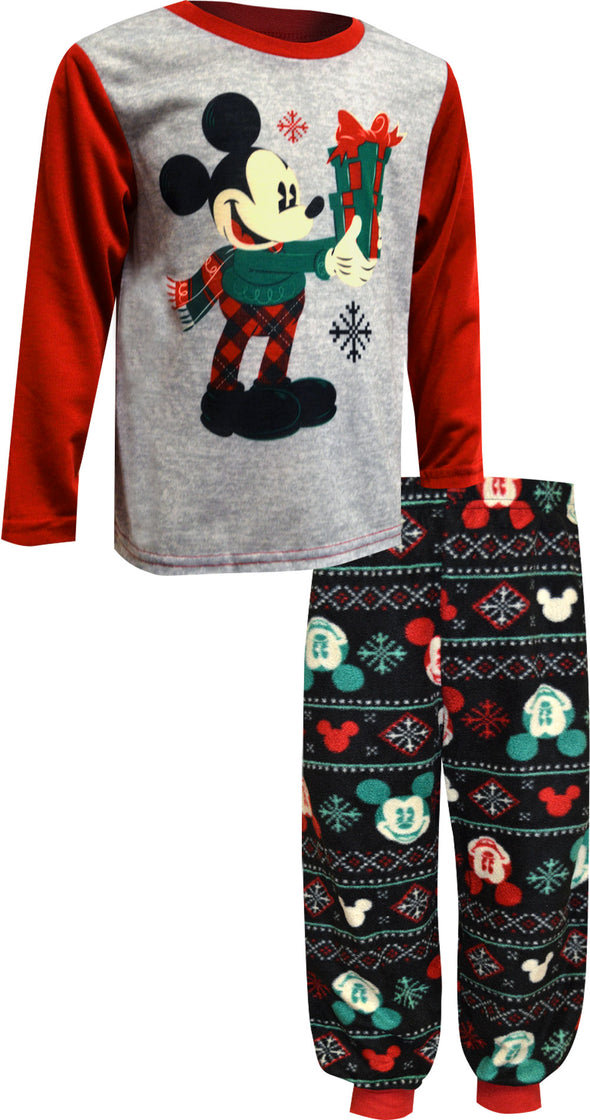 Mickey Mouse Toddler Christmas Jogger Style Pajama