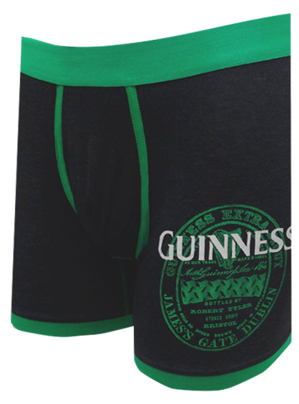 Guinness Label Logo Boxer Brief