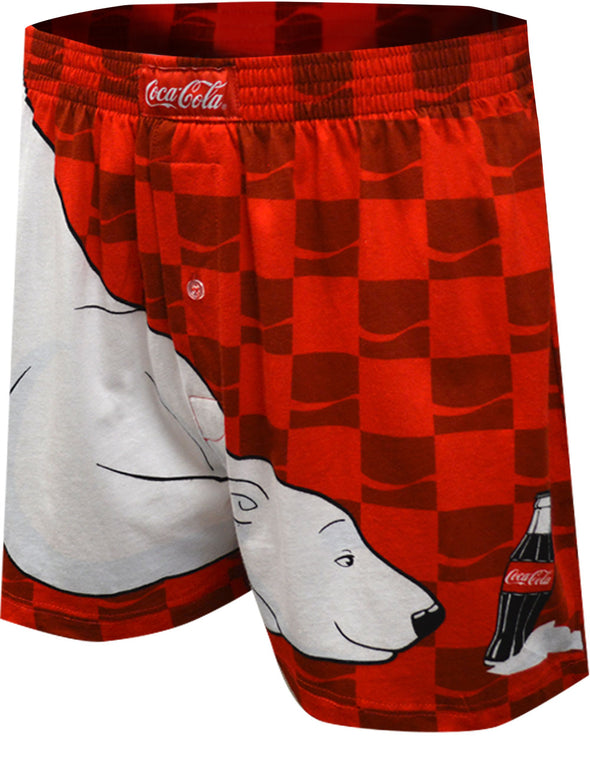 Coca Cola Bear Always Cool Boxer Shorts