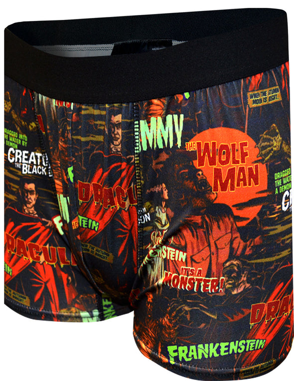Universal Studios Classic Horror Movie Monsters Boxer Briefs