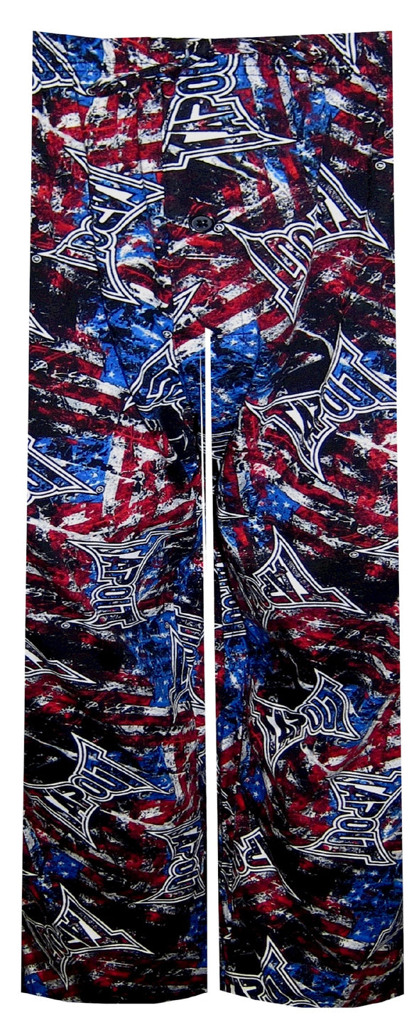 MMA Tapout Trademark Logo Patriotic Lounge Pant
