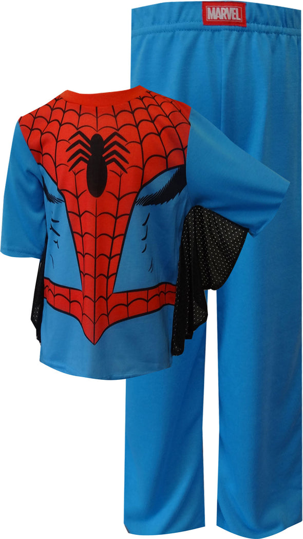 Spiderman Dress Like Spidey Toddler Pajamas with Webbed Sleeves