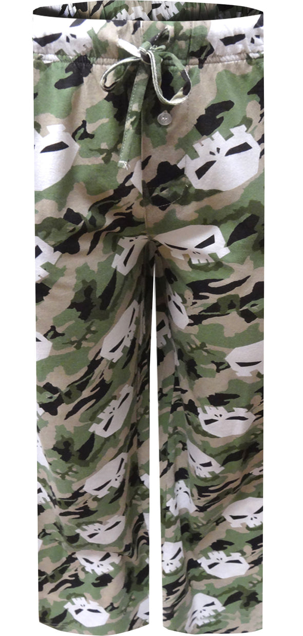 Marvel Comics The Punisher Green Camo Lounge Pants