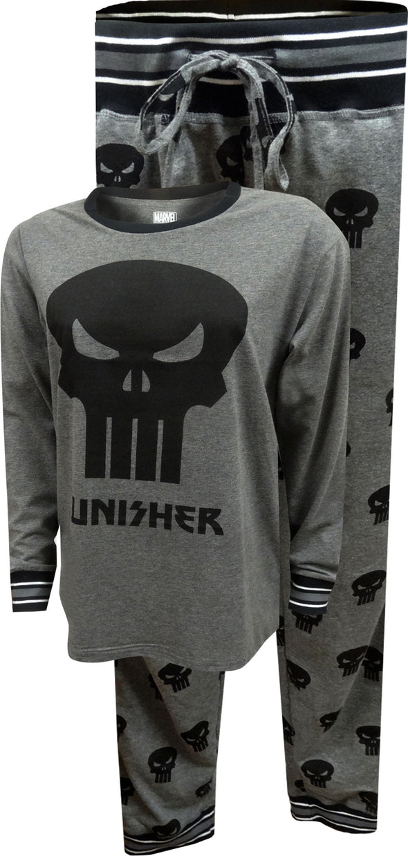 The Punisher Logo Jogger Pajamas