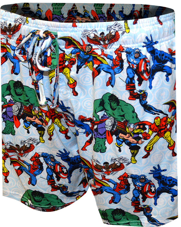 Marvel Comics Heroes Collection Lounge Shorts