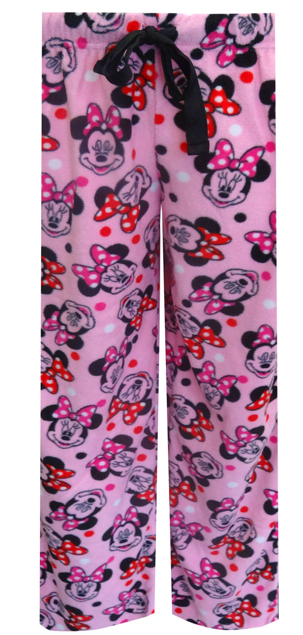 Disney's Minnie Mouse Pink Fleece Loungepant