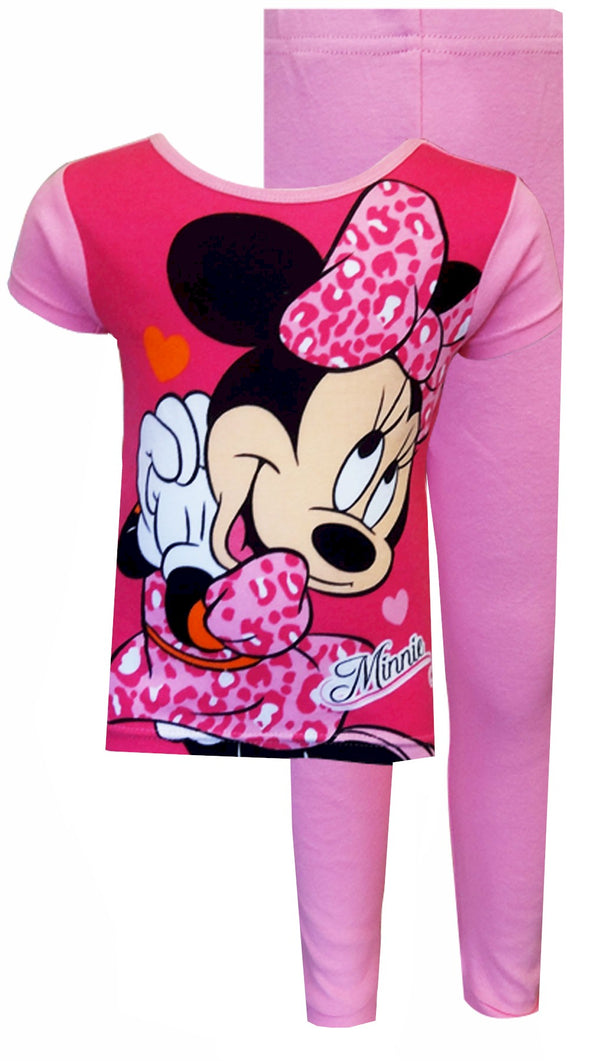 Disney Minnie Mouse Leopard Love Toddler Pajamas