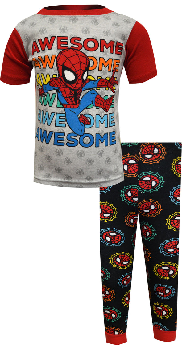 Marvel Comics Spiderman Awesome Spidey Toddler Pajamas