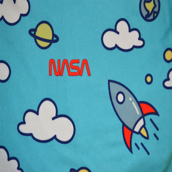 NASA Blast Off to Space Performance Fabric Lounge Shorts