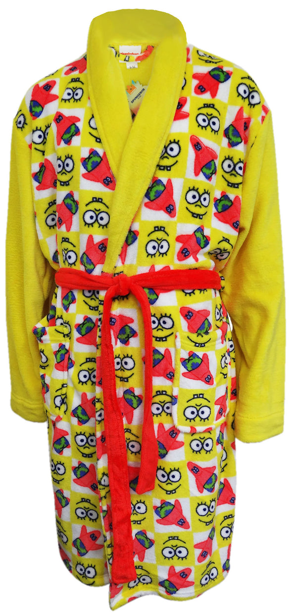 SpongeBob Squarepants Adult Plush Robe