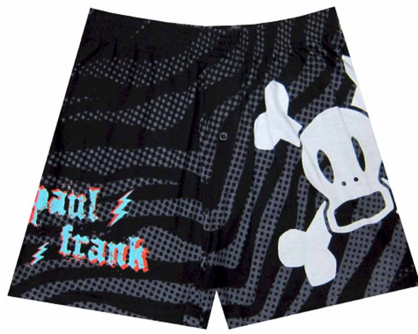Paul Frank Electric Skurvy Black Boxers Size Small