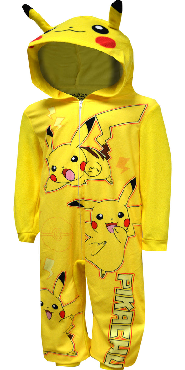 Pokemon Pikachu Blanket Sleeper Pajama with Hood