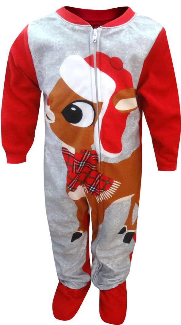 Rudolph The Red-Nosed Reindeer Infant Blanket Sleeper