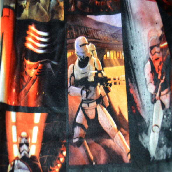 Star Wars The Force Awakens Movie Scenes Flannel Lounge Pants