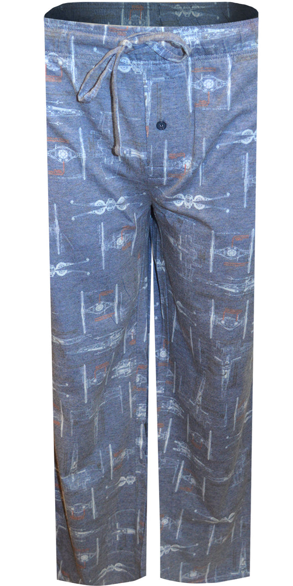 Star Wars Special Fighter Guys Muted Gray Lounge Pant